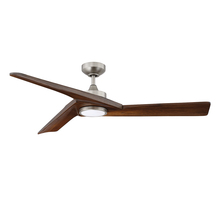 Kendal AC21952-SN - VORION 52 in. LED Satin Nickel Ceiling Fan with DC motor