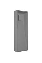 Kuzco Lighting Inc EW6324-GY - Baltic - Exterior Wall Light Die-Cast Aluminum with Powder Coated Finish