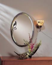 Hubbardton Forge - Canada 710014-03 - Beveled Oval Mirror with Leaf